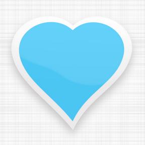 Corazón de color azul cielo.png