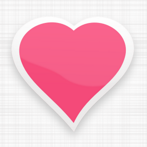 Corazón de color rosa.png