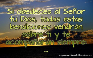 Imagen Cristiana si obdeces al Señor.jpg