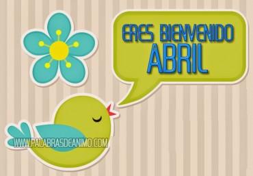 Eres bienvenido ABRIL – Facebook