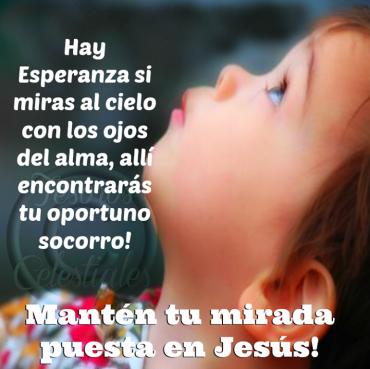 Mantén tu mirada puesta en Jesús – Facebook