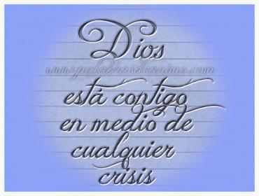 Dios está contigo en medio de cualquier crisis – Facebook