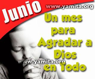 Junio  un mes para agradar a Dios en todo – Facebook