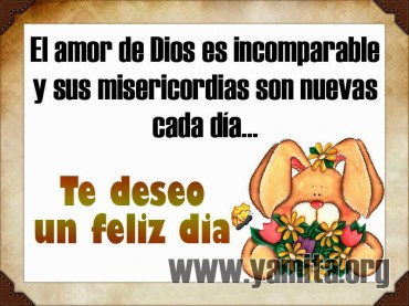 El amor de Dios es incomparable  – Facebook