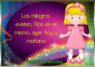 Cree en los milagros que Dios tiene para tu vida