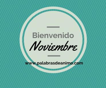 Bienvenido  NOVIEMBRE – Facebook