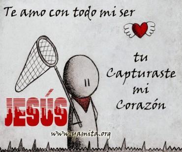 TE AMO con todo mi ser  JESÚS – Facebook