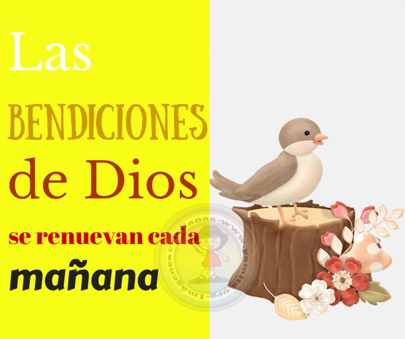 Las bendiciones de Dios se renuevan cada mañana – Facebook