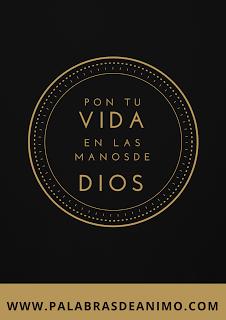 Pon tu vida en las manos de Dios – Facebook