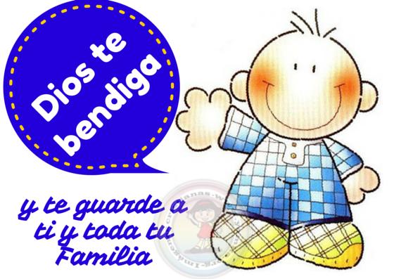 Dios te bendiga y te guarde a ti y toda tu familia – Facebook