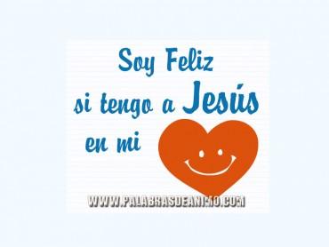 Soy Feliz tengo a Jesús en mi corazón – Hi5