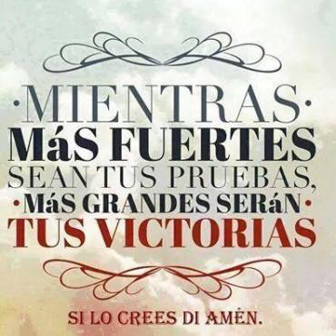 Victoria en Dios