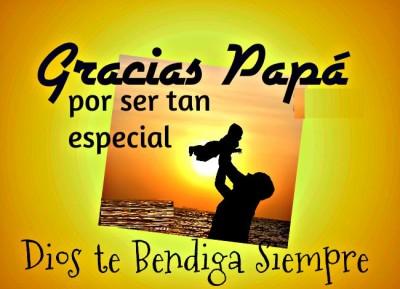 mensaje para el día del padre en un dia especial