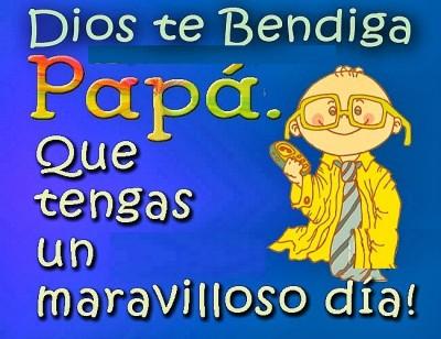 mensaje para el día del padre en su dia