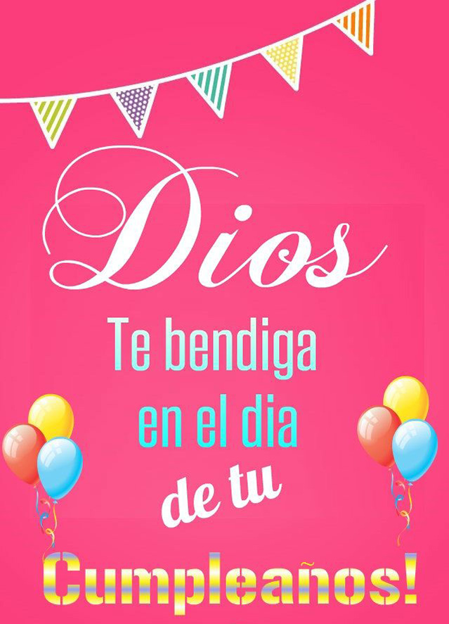 dios te bendiga cumpleaños