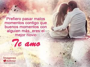imagenes con frases romanticas para enamorados - pareja te amo