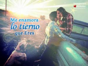 imagenes con frases romanticas para enamorados - me enamora lo tierno que eres