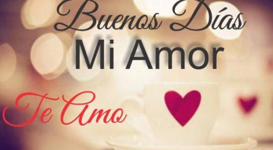 Buenos Dias Amor Frases Bonitas Ministros Org